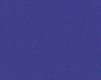 Stoff Baumwolle / Canvas in  blau/royalblau