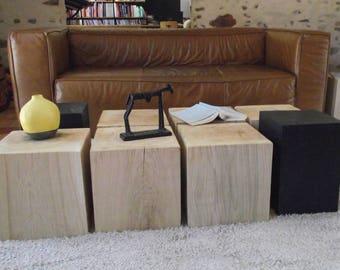 8 wood coffee table