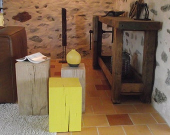 YELLOW nightstands bits of sofa side Table coffee table