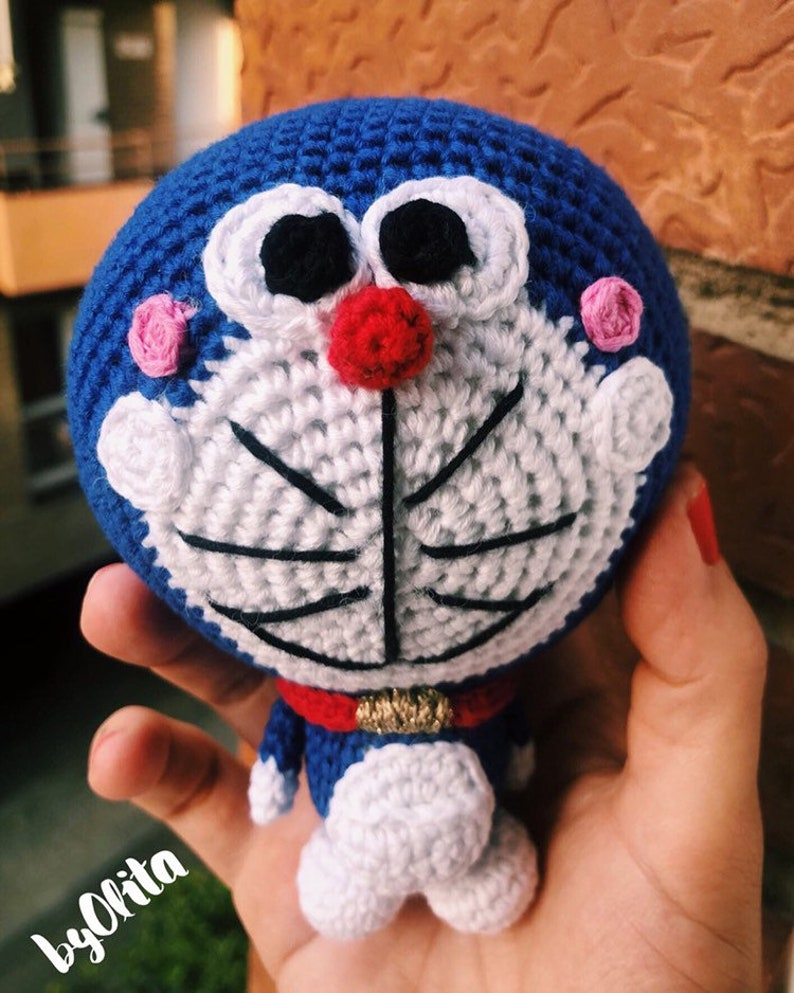 Doraemon character big size amigurumi - Amigu World | 993x794