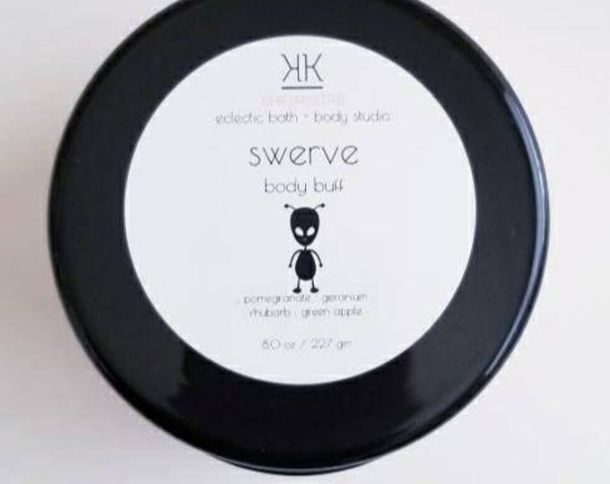 swerve sugarcreme body buff