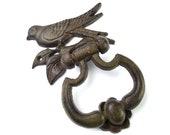 Bird Door Knocker Cast Iron Door Knocker Door Knocker Vintage Door Knocker Vintage Metalware