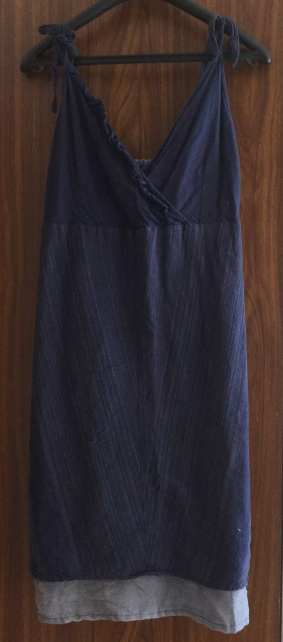 Vintage Indian Cotton/Cheesecloth Dress