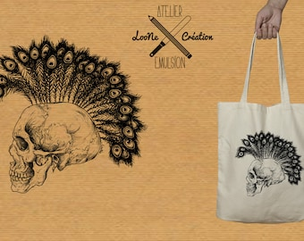 SKULL Loone Creation VS workshop Emulsion TOTEBAG