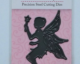 Fairy Butterfly Pixie die cutter  Stencil Metal Cutting Dies Scrap booking Cards