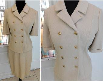 1c47f1b3f4 ST. JOHN COLLECTION By Marie Gray 2-Piece Knit Skirt Jacket Suit Excellent  Condition!