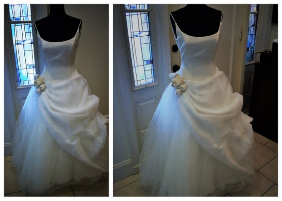 Vintage Anne Barge Couture Wedding Gown, Antebellu