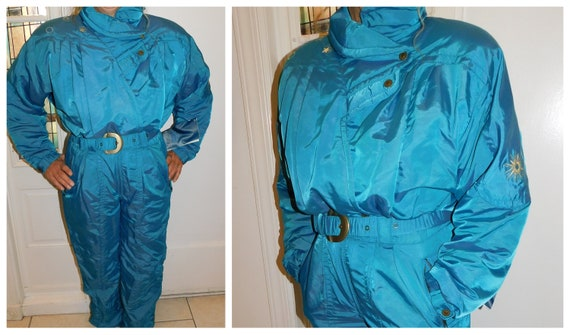 Vintage NOS One Piece Snow Suit Skiing Suit / Roff