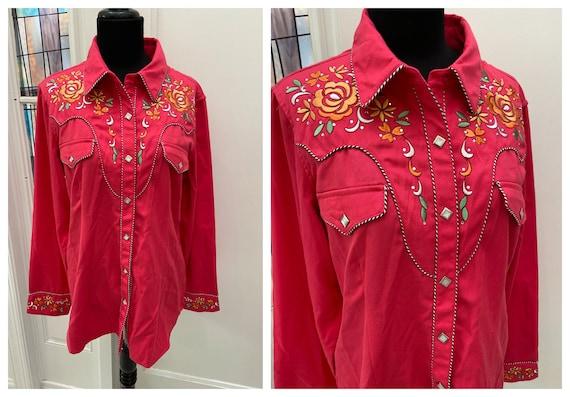 Vintage Women's Western Rodeo Rockabilly Western B