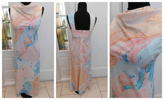 Evening Wear Two Piece Dress Set Vintage 1970s Don Luis De ESPANA Black Two Piece Ensemble Black Maxi Dress and Cover 1970s Dress