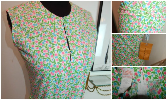 "Lilly Pulitzer The Lilly 1960s Shift Dress ""New Ol"
