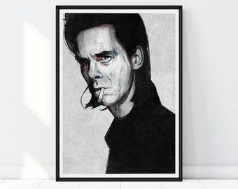 f30b7655a0 Nick Cave Inspired print