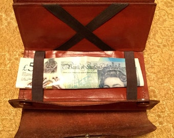 A Present From Barry Island Souvenir Wallet with Fabulous Magic Properties Vintage 1930s Magic Wallet