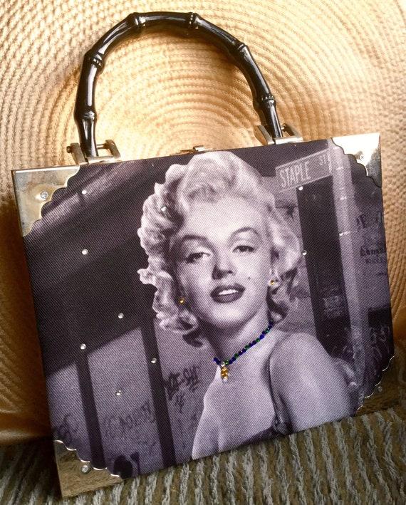 Braciano Cigar Box Marilyn Monroe Handbag