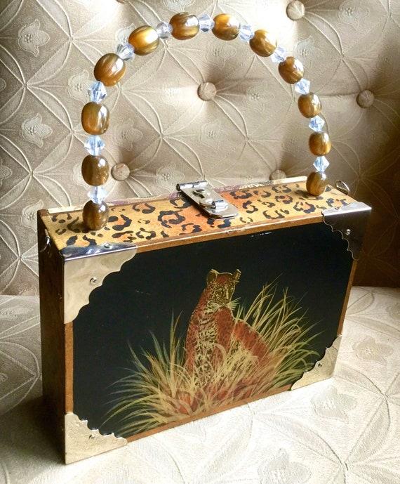 Panther Cigar Box Bag - image 3