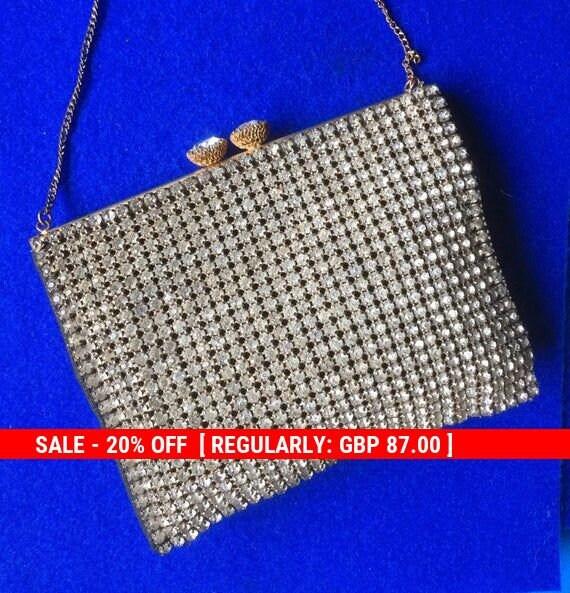 Fabulous Diamanté Evening Bag 1930s