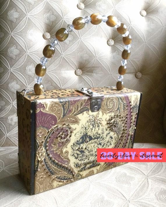 Panther Cigar Box Bag - image 1