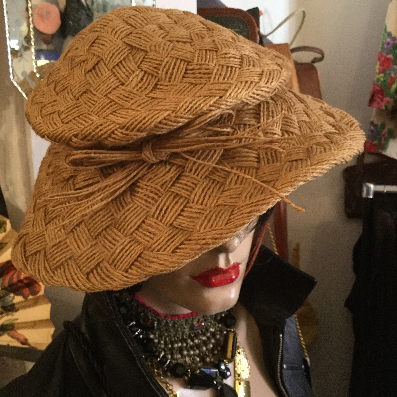 1136d4629bf Dior Hat. Vintage 1950s Christian Dior Licence Chapeaux