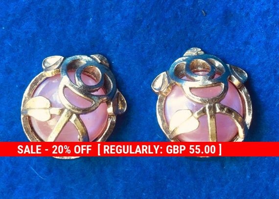 Miracle Macintosh style Clip on Earrings