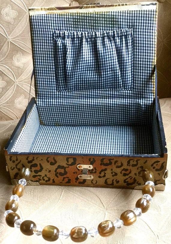 Panther Cigar Box Bag - image 8