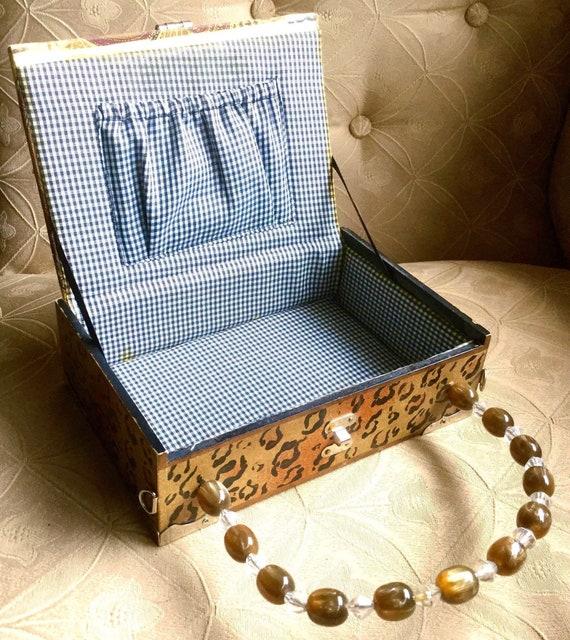 Panther Cigar Box Bag - image 9