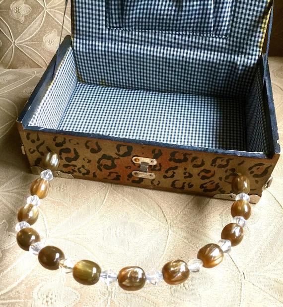 Panther Cigar Box Bag - image 6