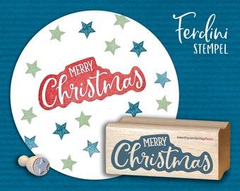 Merry Christmas · Stamp