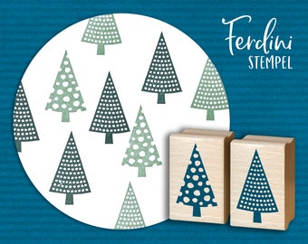 Fir trees · 2 stamps