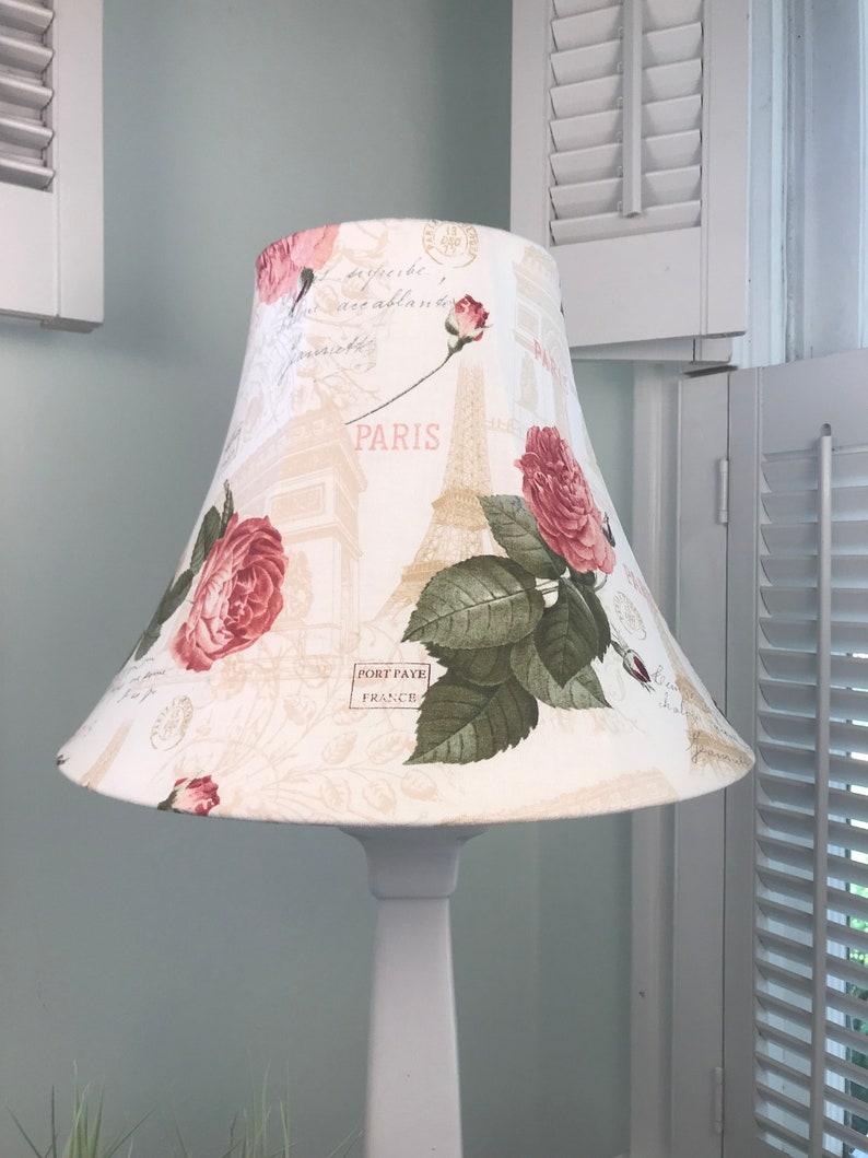 French Lamp Shade Paris Lamp Shade Shabby Chic Lamp Shade Eiffel Tower Lamp Shade Victorian Lamp Shade Free Shipping Continental Usa