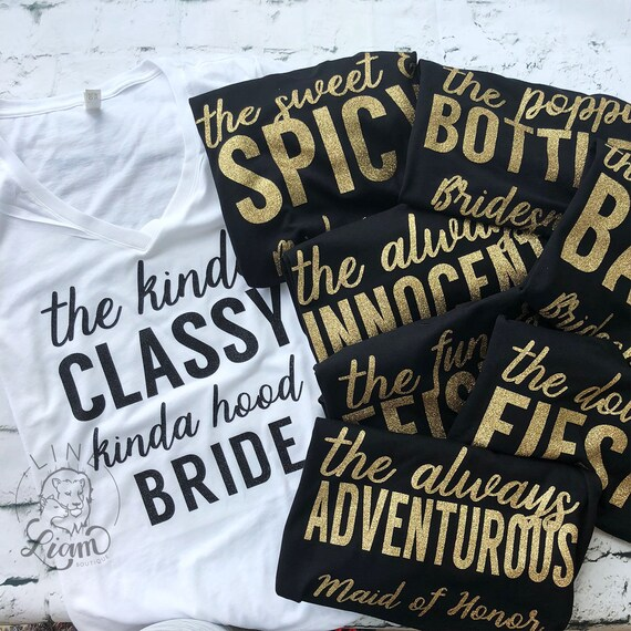 Funny BrideBridesmaids shirts