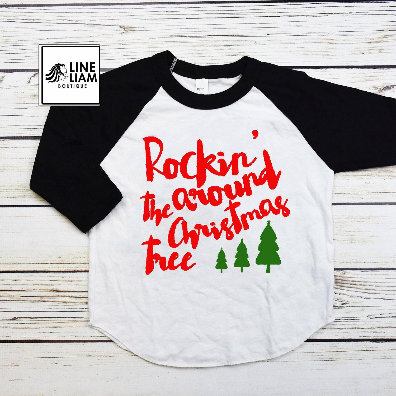kids christmas shirt boys christmas shirt girls christmas | Etsy