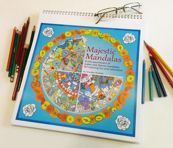 Mandala Kleurplaten Boek.De Grootste Mandala Kleurplaten Boek Die U Ooit Zult Vinden Majestueuze Mandala S Jumbo Formaat 12 X 12 Bevattende 30 Mandala Thema S 35 Korting