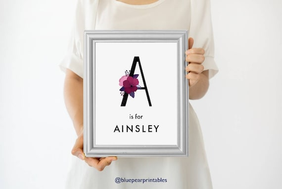Ainsley Custom Poster Art  Art Print  Poster  Poster Custom