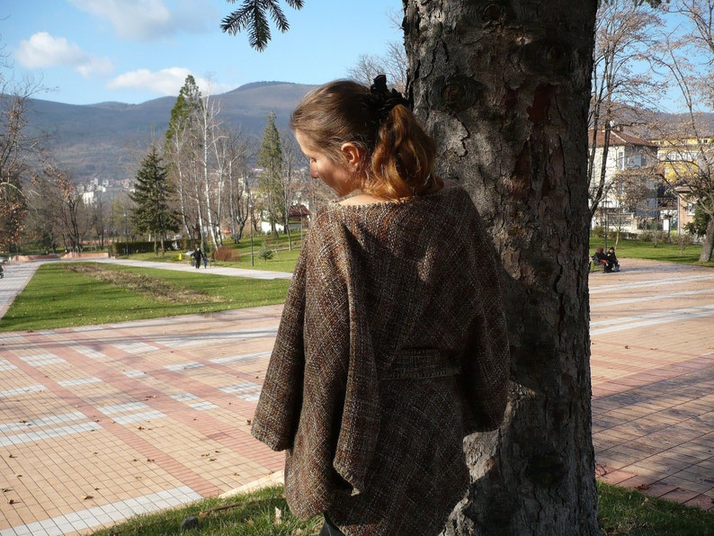 Beautifull tunic with crochet original belt suitfull for \u0430 pregnant woman too