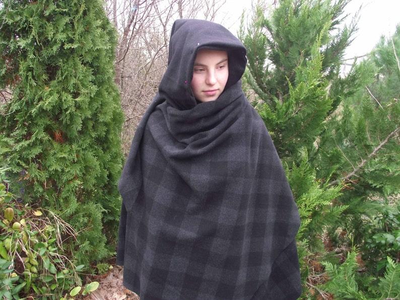 Mantello con cappuccio cappotto di elven mantello medievale  b825f41f785