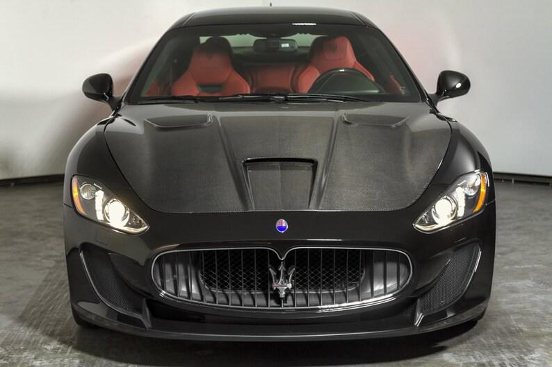 Maserati Granturismo Mc >> Poster Of Maserati Granturismo Mc Stradale Front Black Hd Print
