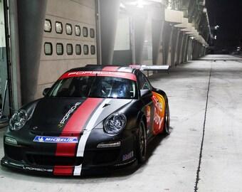 Porsche 911 GT3RS GT3 Cup Front HD Poster Super Car Print