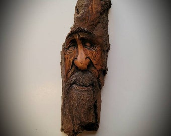 Duck Hunter Basswood Carving Fathers Day  Handcarved Gift for man   Woodcarving Birthday Gift  