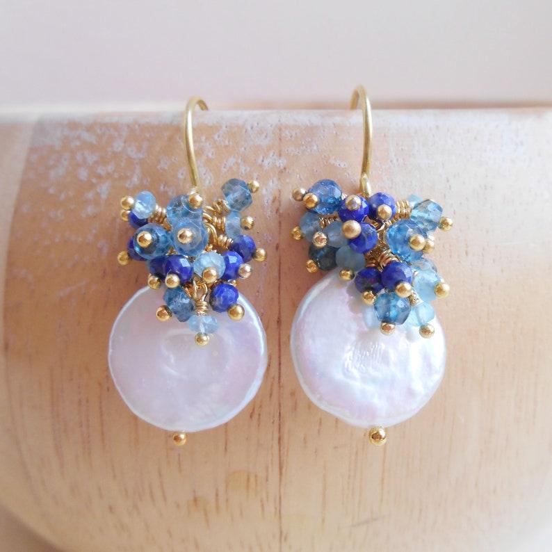 5291269c7576 Acapulco moneda perlas piedras preciosas racimo azul playa