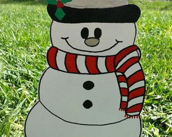 snowman yard decoration holiday snowman decoration outdoor snowman yard decoration