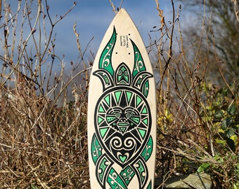"""SP8BOARDS """"Pintail#1"""" - classic longboard deck with turtle design, no kicktails and a deep concave, ideal for carving, cruising and downhill"""