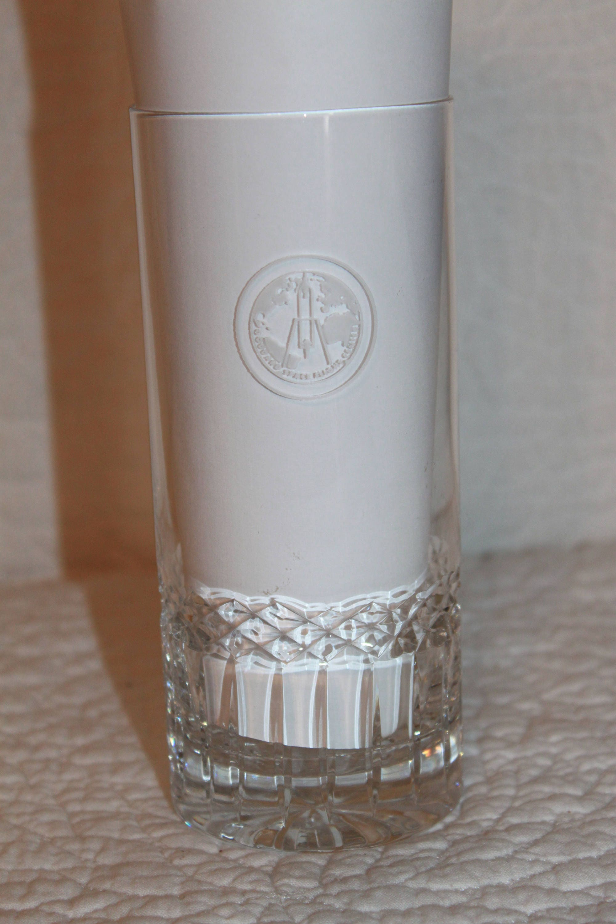 K4 Goddard Space Flight Center Lead Crystal Etched and ...