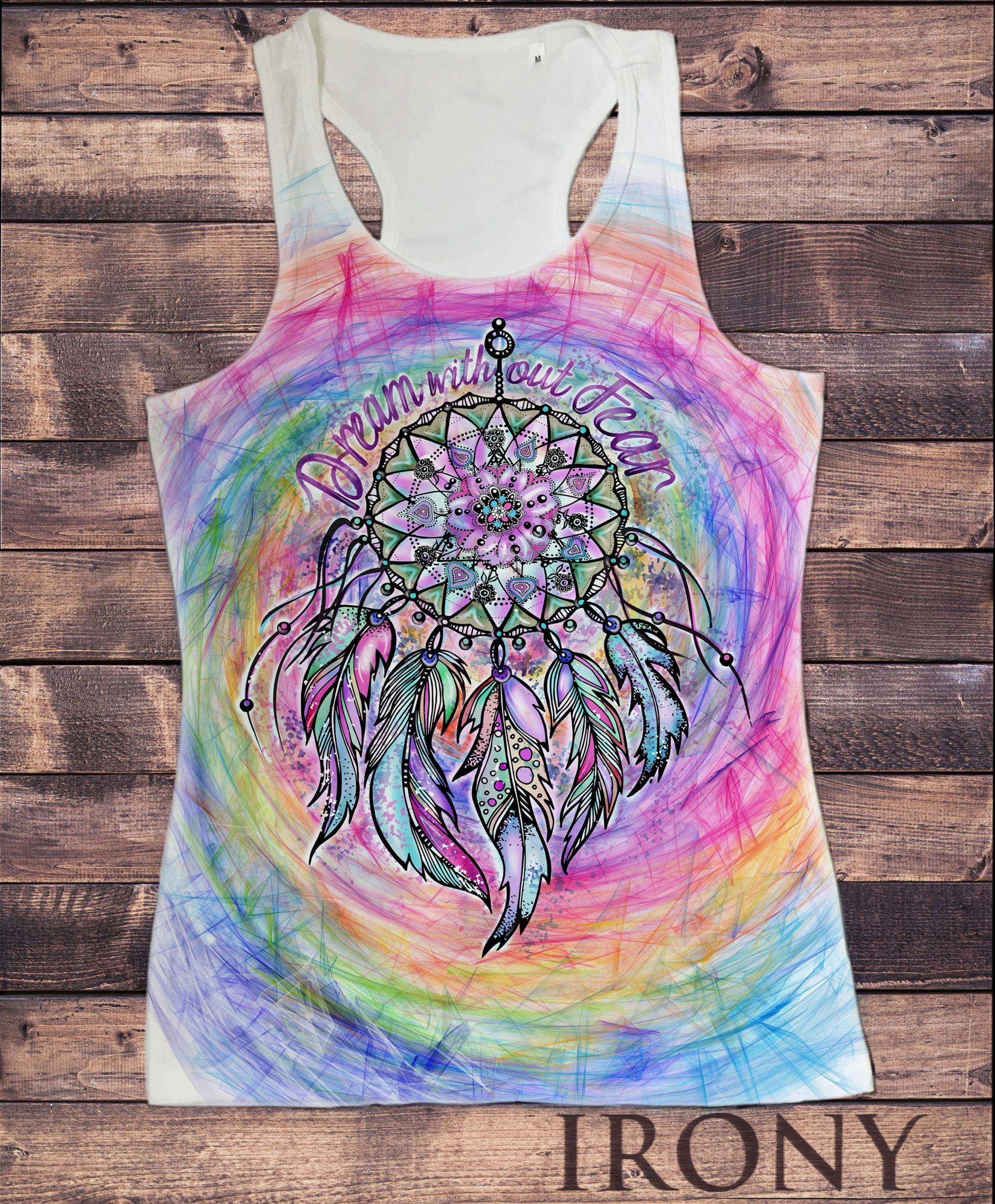 Women/'s fitted vest,Tanktop Om Yantra Mandala Yoga Spiritual Print TW1528
