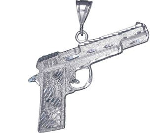 Christmas Colt 45 Automatic Groomsmen Father/'s Day. Anniversary Groom Gift For Dad Wedding Birthday Vintage Gun Pin