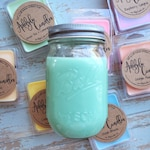 Summer fragrances 16oz soy candled - pick your scent - scented mason jar candles