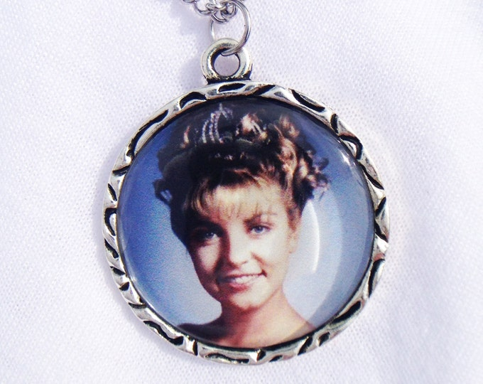 Laura Palmer Trophy Case Photo Twin Peaks Charm Pendant Necklace
