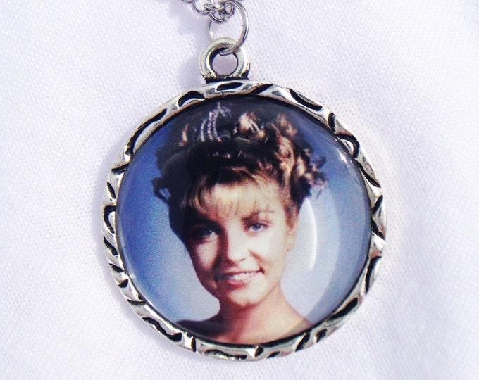 Laura Palmer Trophy Case Photo Twin Peaks Charm Pendant Necklace