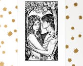 The Lovers Tarot Card Print