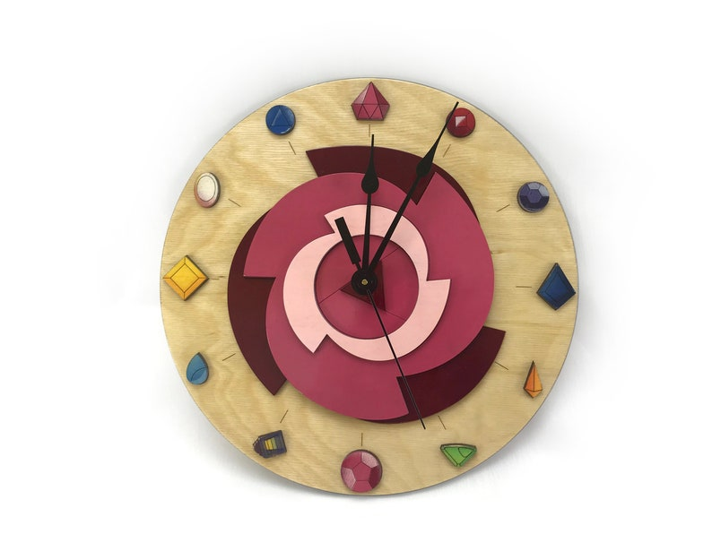 Steven Universe Crystal Gems Wall clock image 0