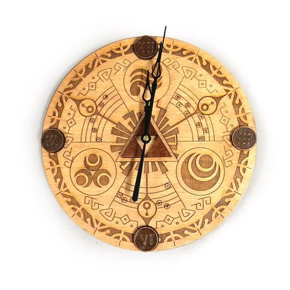 Legend Of Zelda 11 5in Wall Clock Etsy